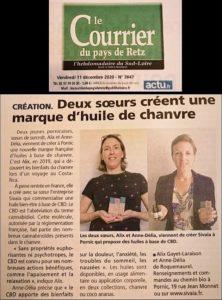 Read more about the article Deux soeurs créent une marque d'huile de Chanvre