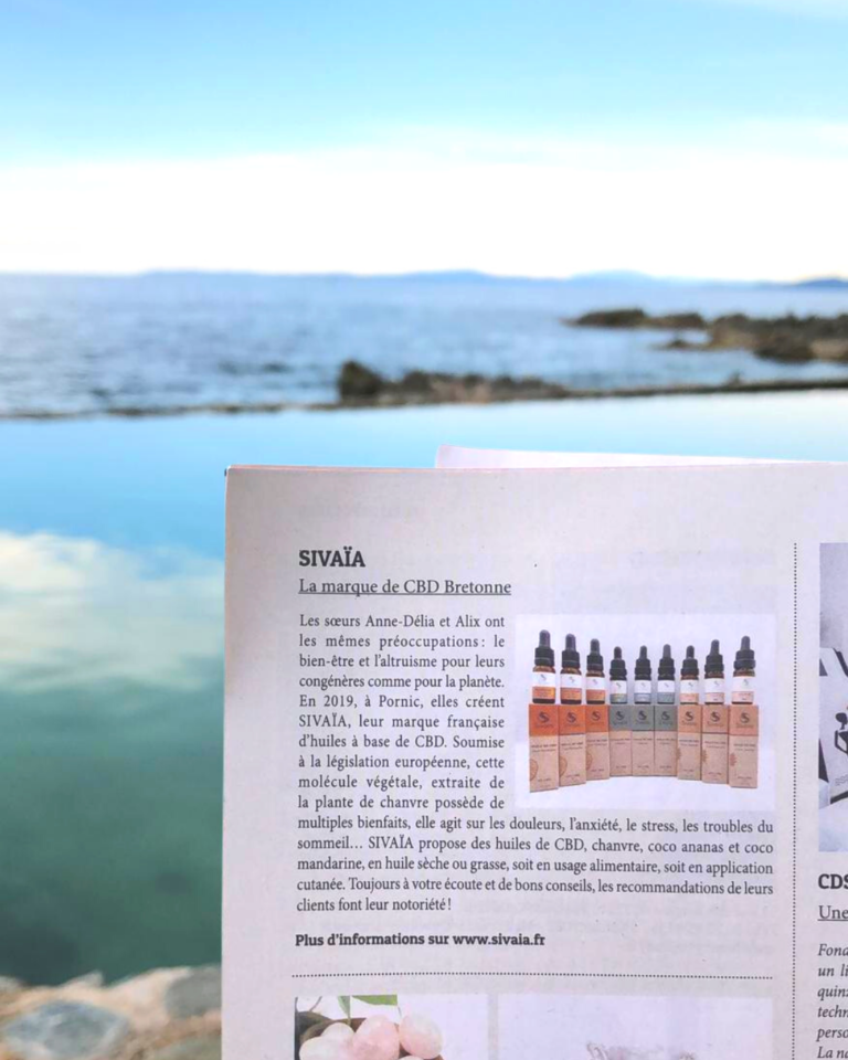 Sivaïa recommandé dans le magazine Marie-Claire