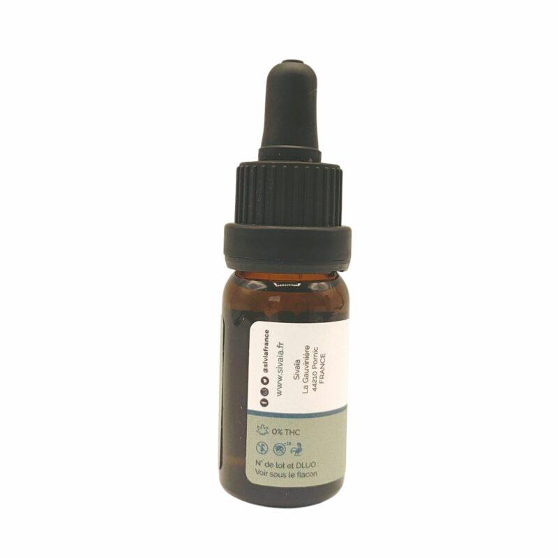 Fiole huile de CBD Chanvre 10%