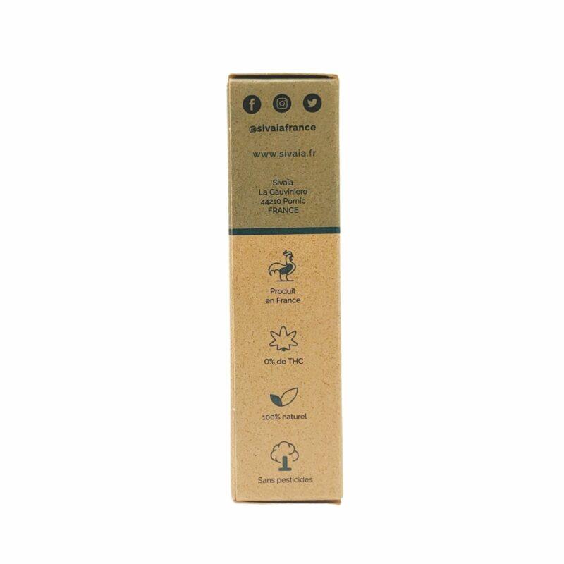 Packaging huile de CBD Chanvre 10%