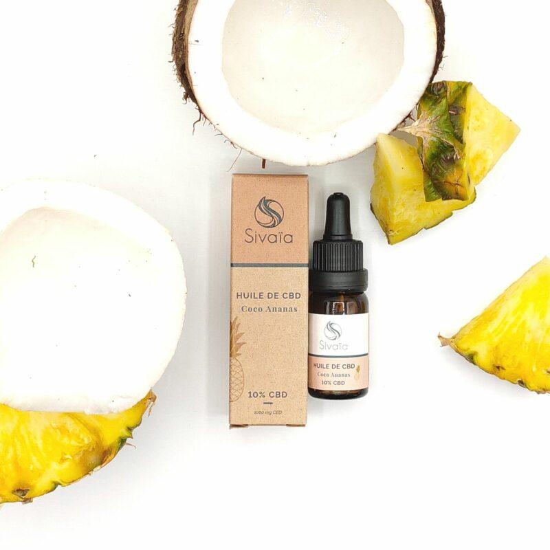 Huile de CBD 10% – Coco Ananas