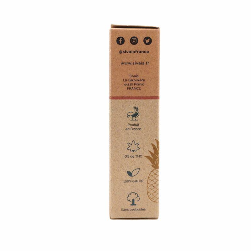 Packaging huile de CBD Coco Ananas 20%