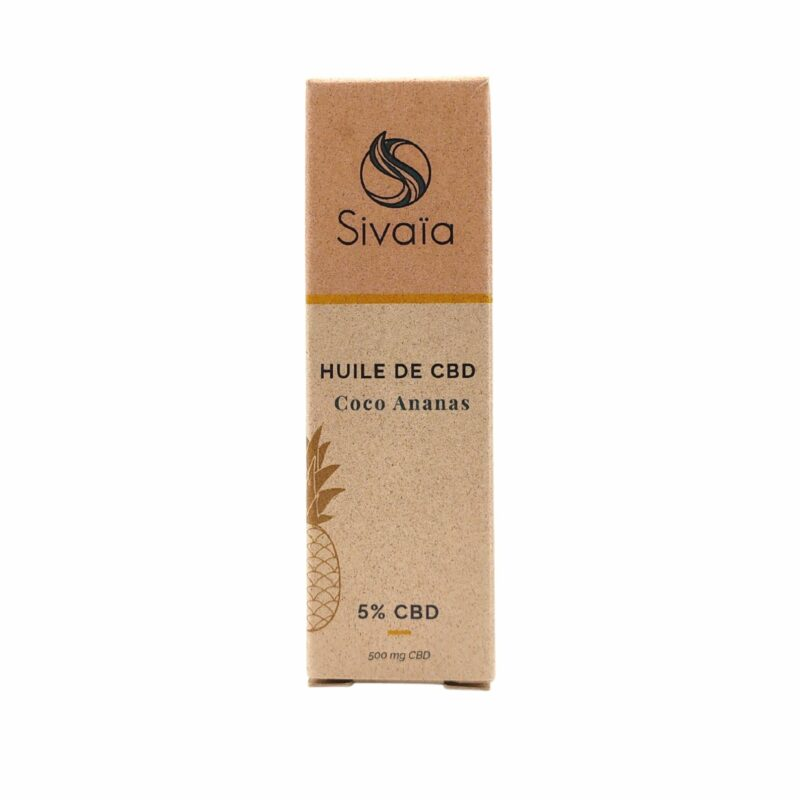 Packaging huile de CBD Coco Ananas 5%
