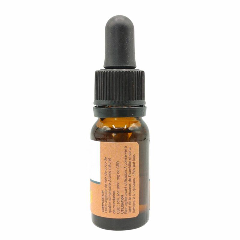 Fiole huile de CBD Coco Mandarine 10%