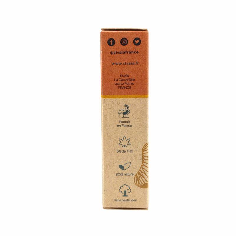 Packaging huile de CBD Coco Mandarine 5%